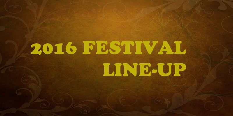 2016 Festival Line Up