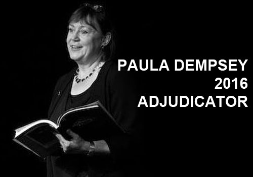Paula Dempsey 2016 Adjudicator