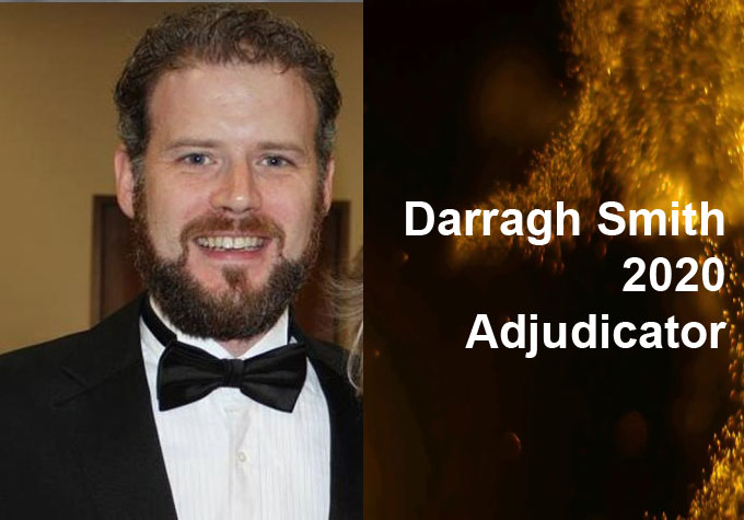 Darragh Smith 2020 Adjudicator